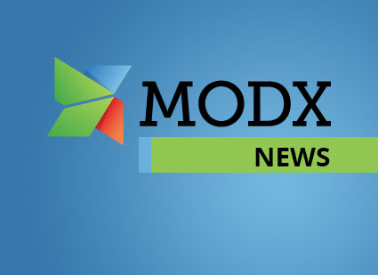 MODX Revolution 2.5.8 Released Intro Photo