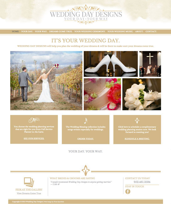 Wedding Day Designs
