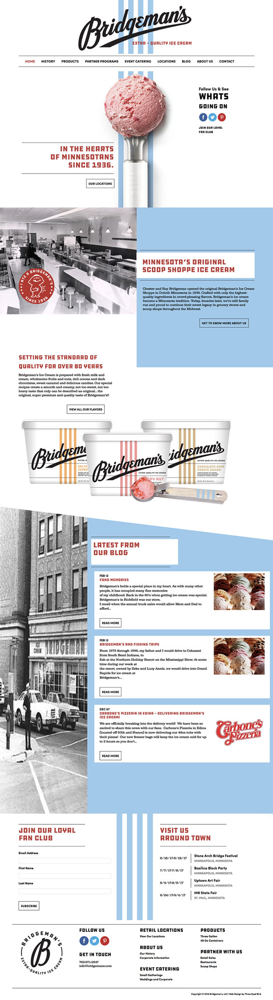 Bridgemans Ice Cream