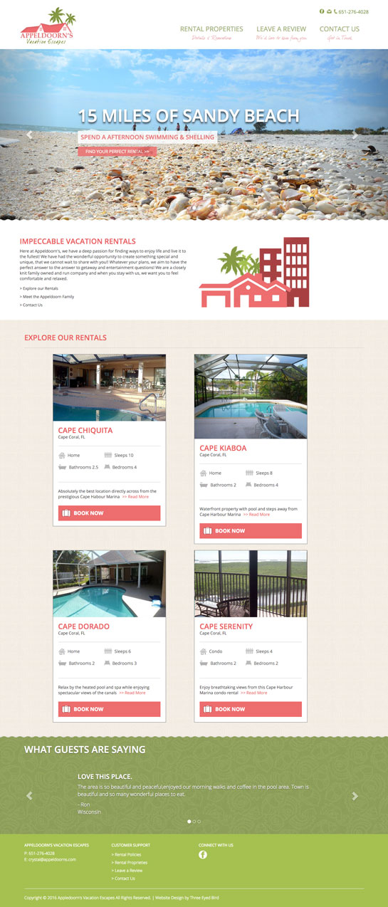 Find Your Prefect Vacation Rental Intro Photo