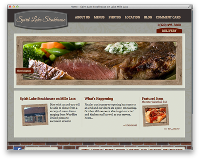 Spirit Lake Steakhouse